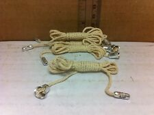 Eagle 315-BOX 3ft Long Lamp Chain Pull Switch Cord with End Bell Connector