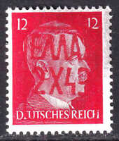 GERMANY 511B RED ZANTE (GREECE) OVERPRINT OG NH U/M F/VF BEAUTIFUL GUM