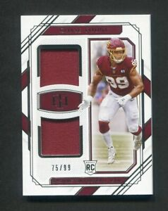 2020 National Treasures Chase Young Rookie Dual Jersey /99 Washington Redskins