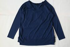 Next Maternity Two In One Navy Top Size 12