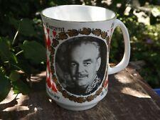 1974 Prince Rainier of Monaco Silver Jubilee Panorama China Portrait Mug