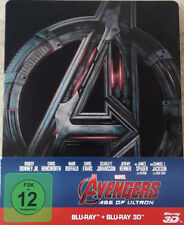 The Avengers - Age of Ultron (3D Steelbook) OOP, NEU & OVP