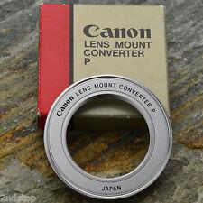 Mint Canon Lens Mount Converter P M42 lens to Canon FL/FD Infinity Focus #303