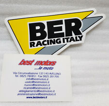 ADESIVIO BER RACING ITALY STICKER DECAL EMBLEM TUNING MOTORCYCLE SCOOTER