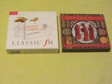 Coro De Monjes Del Canto Gregoriano & Classic FM Smooth Classics 2 Albums 6 CDs