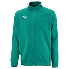 Puma fútbol liga sideline poly chaqueta Core fútbol chaqueta señores verde