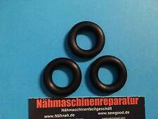 3 Spulergummi für fast alle Nähmaschinen wie  Pfaff 260,262,332,230,362,360,97