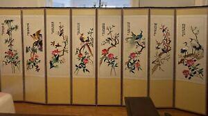 Antique Korean folding screen Super Pretty !!
