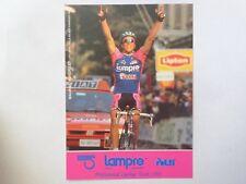 wielerkaart 1993 team lampre  maurizio fondriest