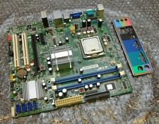 Acer Veriton M275 G41M07-1.0-6KSH Socket 775 Motherboard with CPU & Backplate