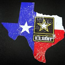 Texas US Army Modern - Sticker