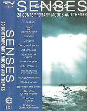 Various Senses 20 Contemporary Moods Themes CASSETTE ALBUM JARRE VANGELIS BJORK