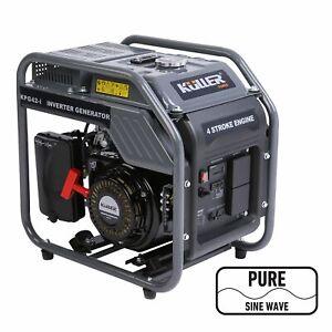 KULLER 4.2kVa Max/3.5kVa Rated Pure Sine Wave Petrol Inverter Backup Generator