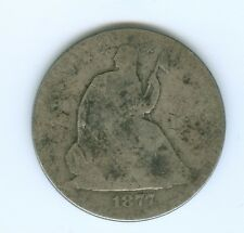 1877-S SEATED LIBERTY HALF DOLLAR-CIRCULATED