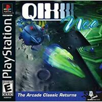 Qix Neo Playstation 1 Game PS1 Used