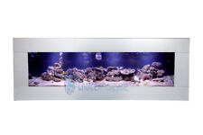 Smooth Stainless 900mm 3ft NEW DESIGNER ARTIST WALL AQUARIUM FISH TANK LIVE ART