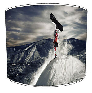 Snowboarding Lampshades Ideal To Match snowboarding accessories & Snowboards