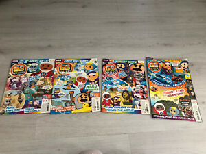 Go Jetters Magazine Issue 12/13/14/15 Bundle X 4 Bundle - No Free Gifts