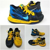 Nike Kyrie Irving 3 GS What the Yellow Blue Basketball AH2287-700 Boys Size 5 Y