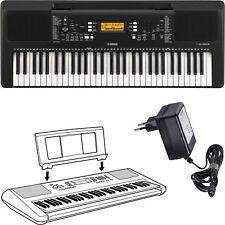 Yamaha PSR E363 Keyboard für Anfänger mit Netzteil + Notenablage 353 Nachfolger