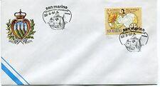 1991-03-22 San Marino celebrazioni Colombiane ANNULLO SPECIALE Cover