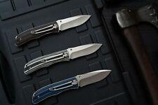 SANRENMU 9055 Ball Bearing Pivot System 8Cr13MoV  Blade G10 Folding Pocket Knife