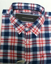 6b4e03d3566c Tommy Hilfiger Boy's Neppy Check long sleeves shirt Navy/Red/White age 16