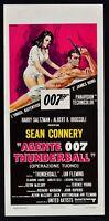 Plakat Agent 007 Thunderball James Bond Sean Connery IN Fleming N23