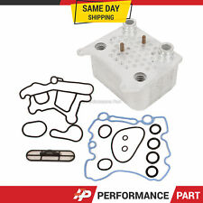 Upgraded Ford 6.0 Oil Cooler Kit Ford F-250 F-350 F-450 Powerstroke Diesel Turbo