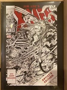 Jim Lee's X-Men Artist's Edition Limited Signed Numbered IDW Variant 121/175