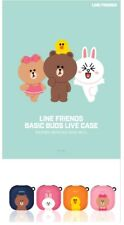 Official LINE FRIENDS Basic Buds Live Case Cover For Samsung Galaxy Buds Live