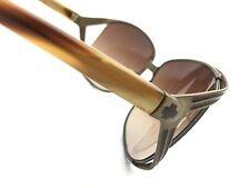 SPY+ Optics Kaori Sunglasses 670037163073 KACB94 Caramel Metal Frame Brass Lens