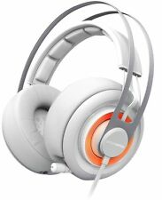 SteelSeries Siberia Elite Gaming Headset w/Dolby 7.1 Surround Sound +USB (White)