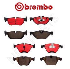 For BMW E82 E84 E88 E90 E91 E92 Rear Brake Pad Set Ceramic /& 2 Sensors Brembo