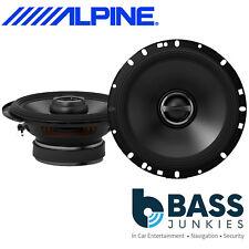 """Alpine S-S65 - 480 Watts a Pair 2 Way 6.5"""" 17cm Coaxial Car Van Door Speakers"""