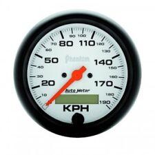 "Auto Meter 5887-M 3-3/8"" Phantom Electric Speedometer, 0-190 KM/H"