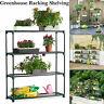4 Tier Greenhouse Shelving Racking Staging Storage Shelves Flower Display Garage