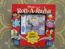 Disney Learning Roll A Rama Our Town Scavenger Hunt 2005 New