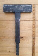 Vintage Blacksmith Cutting  Forming Tool Anvil Stake Forging Tinsmith hammer axe