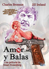 Love and Bullets NEW PAL Classic DVD Charles Bronson