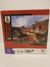 """Cotswolds Cottage, Snowshill Village, England 300 Piece Puzzle Big Ben 11"""" x 14"""""""