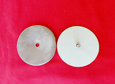 VW KARMANN GHIA 1956-74 TORSION BAR INSPECTION COVER, INNER AND OUTER!! NEW ONE!