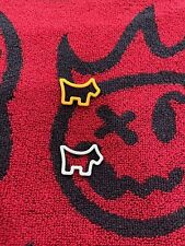 New listing Scotty Cameron -SET OF 2- Ball Markers - Soft Touch Scotty Dog  NEW  Orange Grey