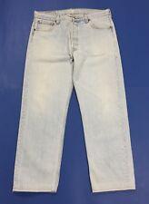 Levis 501 W36 tg 50 jeans uomo usato vintage made in usa denim boyfriend T3386