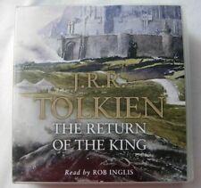 The Return of the King Part Three of LOTR CD Audio 2002 Rob Inglis Unabridged