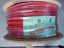 UL1015 12 AWG  STRANDED TIN COPPER WIRE RED **ENTIRE SPOOL**1000'