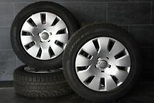 Original Audi A4 8B 8K Jantes 16 Pouces Pirelli Roues D'Hiver Lot 205 60 r16