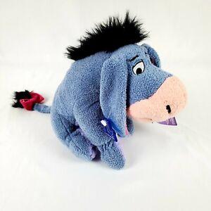 "Applause Disney's Winnie The Pooh Eeyore Donkey 10"" Beanbag Plush Stuffed Animal"