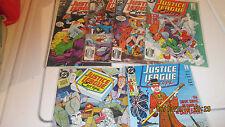 DC Comics Justice League Europe #2-5, 20, 21 JLE JLA JLI