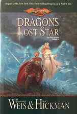 MARGARET WEIS DRAGONS OF A LOST STAR BOOK 2 WAR OF SOULS HARDCOVER 1ST NEW OOP